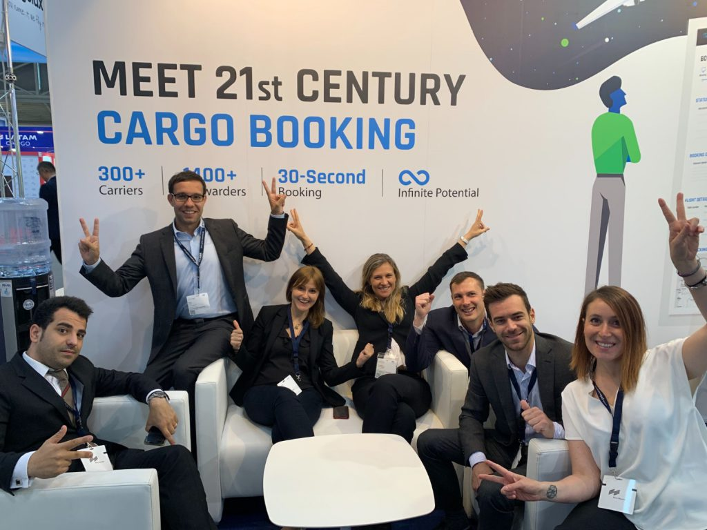 WebCargo team at TransportLogistic19