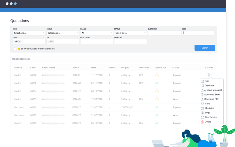 Air: Rate Management Software for Forwarders - WebCargo